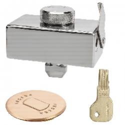 Dispositivo de seguridad inceca 204 con tubo suelo y llave plana
