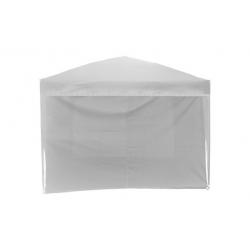 Cortina sin ventana blanca para pergolas 3 x 3 m