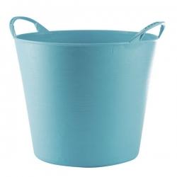 Cubo flexible multiusos 42 lt azul
