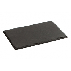Bandeja pizarra 30x20 cm negro