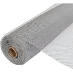 Tela mosquitera fibra vidrio minirollo 1,20 x 5 metros gris