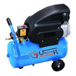 Compresor monobloc lubricado uniair jm21024 2 caballos 24 litros