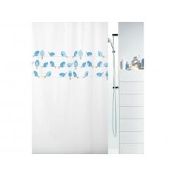 Cortina de baño spirella birdy blue