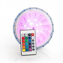 Proyector led color gre pled1c para piscina elevada de acero