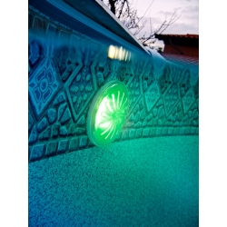 Proyector led color gre pled1c para piscina elevada de acero280436
