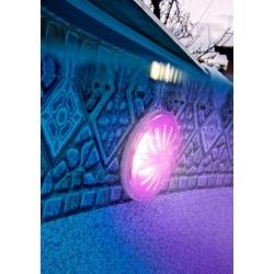 Proyector led color gre pled1c para piscina elevada de acero280437