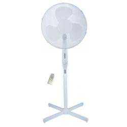 Ventilador de pie tristar v5988 con mando distancia 40 cm blanco