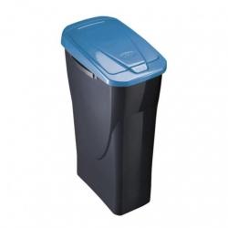 Cubo con tapa ecobin 25 l azul