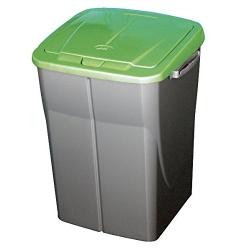 Cubo de reciclaje ecobin 45l verde