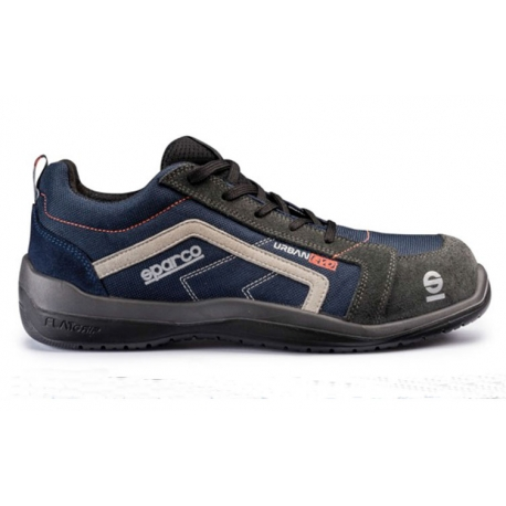 Zapato seguridad sparco u6 urban evo s1p src azul gris talla 39
