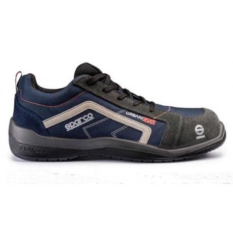 Zapato seguridad sparco u6 urban evo s1p src azul gris talla 40