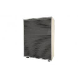 Armario modulo garofalo a-80 91 x 62.5 x 35 cm con persiana gris283499