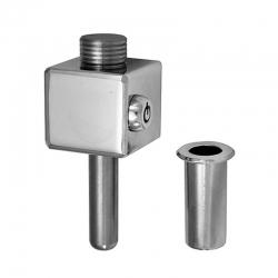 Cierre lyf l-200 para puertas metalicas basculantes llave tubular