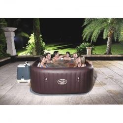 Spa hinchable bestway maldives hydrojet 54173 201x201x80 cm