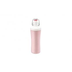 Botella koziol plastico organic rosa 425 ml
