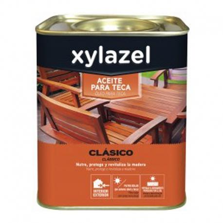 Aceite para teca xylazel incoloro 2,5 litros