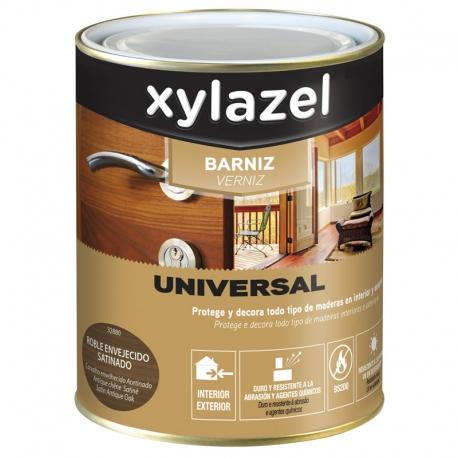 Barniz universal xylazel satinado incoloro 750 ml