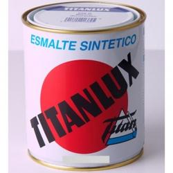 Esmalte sintetico titanlux negro mate 375 ml