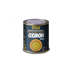 Esmalte forja oxiron titan liso gris acero 375 ml