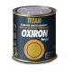 Esmalte liso oxiron titan satinado negro efecto forja 750 ml
