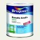 Esmalte acrylico bruguer blanco permanente mate 750 ml