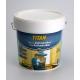 Pintura antimanchas al agua h24 titan blanco mate 750 ml