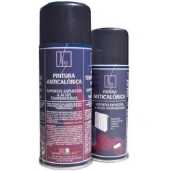 Pintura spray anticalorica pintyplus negro 520 cc