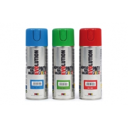 Pintura spray acrilica pintyplus azul 270 cc