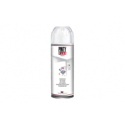 Pintura spray pintyplus antimanchas blanco mate 520 cc