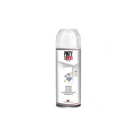 Pintura spray pintyplus antimanchas blanco mate 520 cc