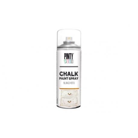 Pintura spray pintyplus chalk blanco roto 520 cc
