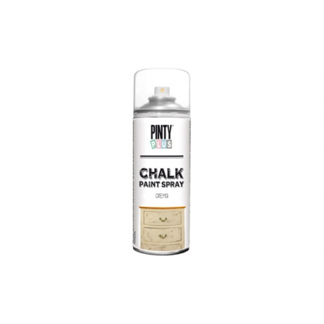 Pintura spray pintyplus chalk crema 520 cc