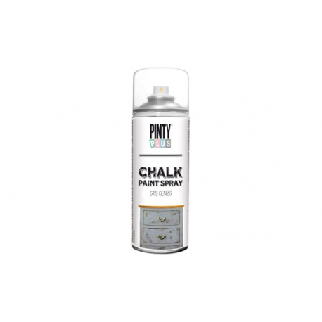 Pintura spray pintyplus chalk gris ceniza 520 cc