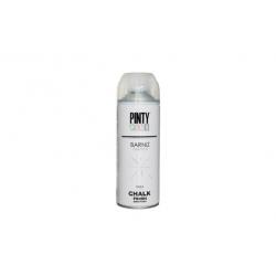 Barniz spray pintyplus mate al agua chalk 520 cc