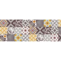 Alfombra vinilica 60x200 cm patch gris ambar