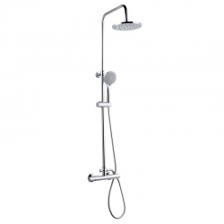 Conjunto columna ducha artic griferia termostatica