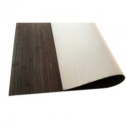 Alfombra de bambu 120x180 cm cool gris