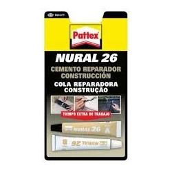 Pegamento nural 26-22 ml cemento reparador construccion