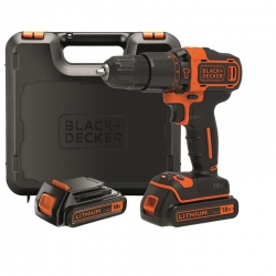 Taladro percutor bateria black and decker bdchd18kb 18 v 1.5 ah