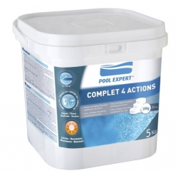 Cloro piscina gre pool expert 5 kg multifuncion tableta 200 gr