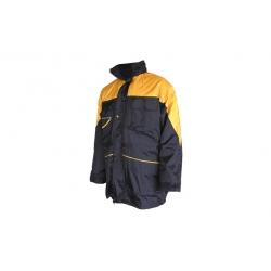 Cazadora ironside pilot navy amarillo azul talla l