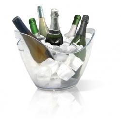 Champanera acrilica vin bouquet 6 botellas