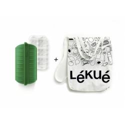 Estuche de vapor lekue con rejilla 1-2 personas y bolsa reciclada