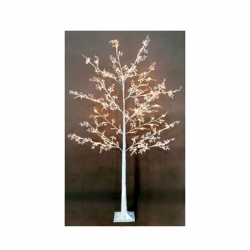 Arbol pvc led exterior 120 luces blanco