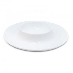Plato porcelana nerthus para aperitivos
