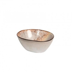 Bol mini stoneware bicolor irregular 10 cm