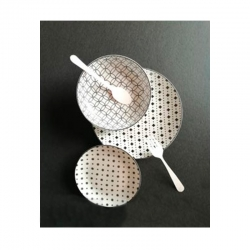 Vajilla 12 piezas porcelana hana
