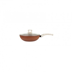 Wok amercook terracotta 28 cm induccion
