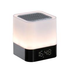 Radio despertador digital con lampara tactil tes160