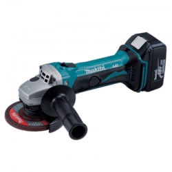 Amoladora makita dga452rme - 18v litio-ion 115mm 2 baterias